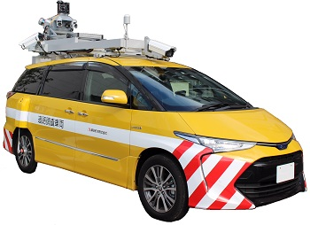 Mobil mapping system vehicle